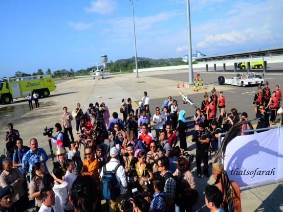 Malindo Air's Inaugural Flight