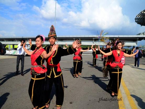 Malindo Air Inaugural Flight Celebration in KK