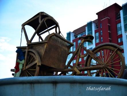 Becak at Losari