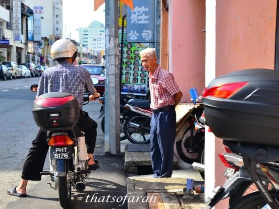 Old folks of Penang