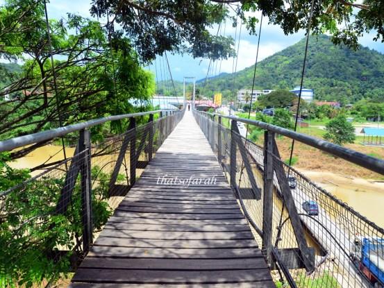 Tamparuli Suspension Bridge