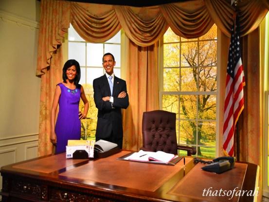 Obama at Madame Tussauds
