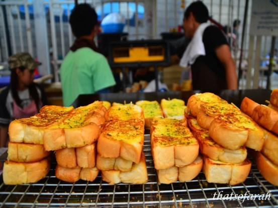 Garlic Bread in Chatuchak