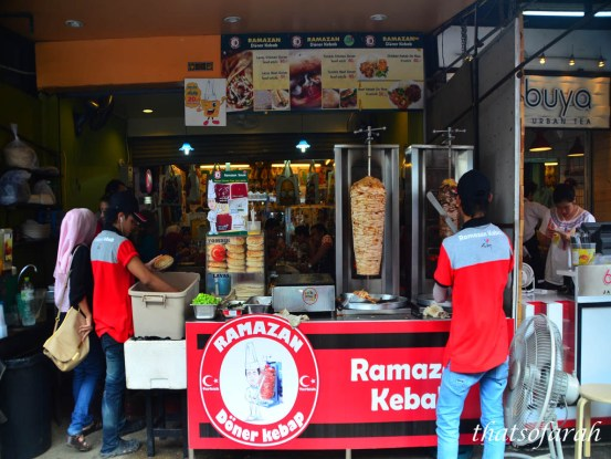 Halal Food in Chatuchak Weekend Market
