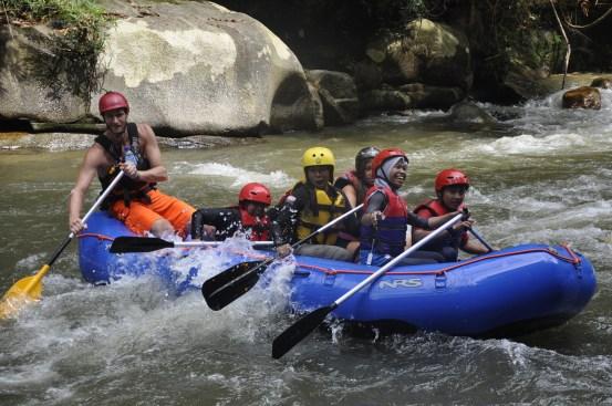 White Water Rafting Gopeng