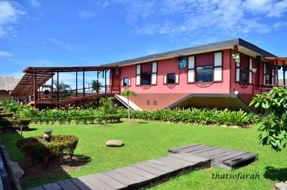 Upside Down House Sabah