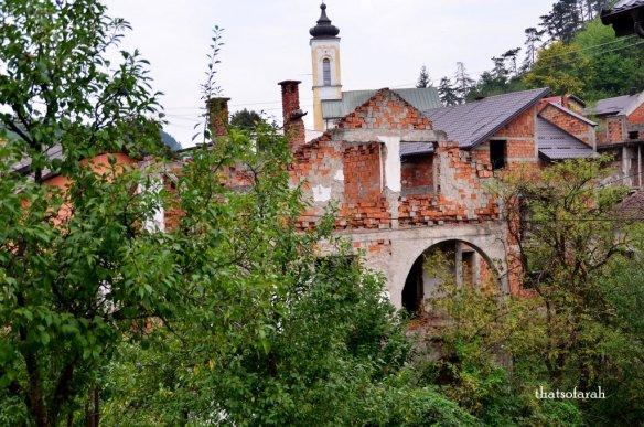 Ghost town Srebrenica