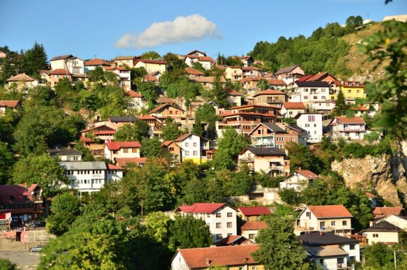 View from Alifakovac Cemetery
