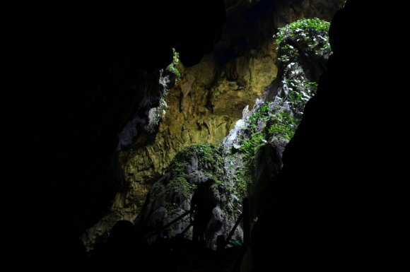 Rock Formation at Fairy Cave, Kuching
