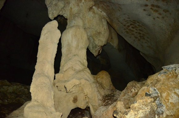 Stalagmites Wind Cave
