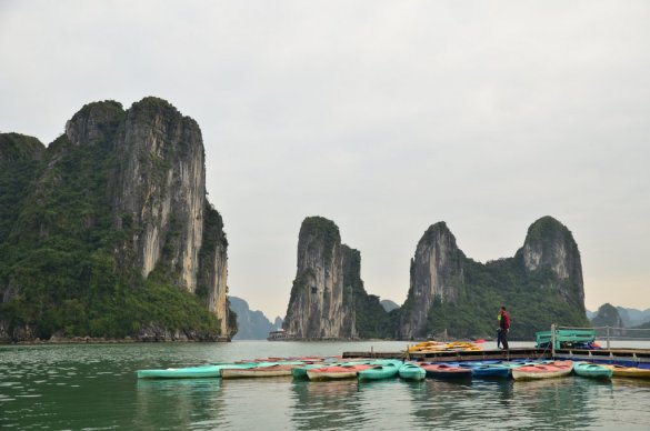 James bond island halong
