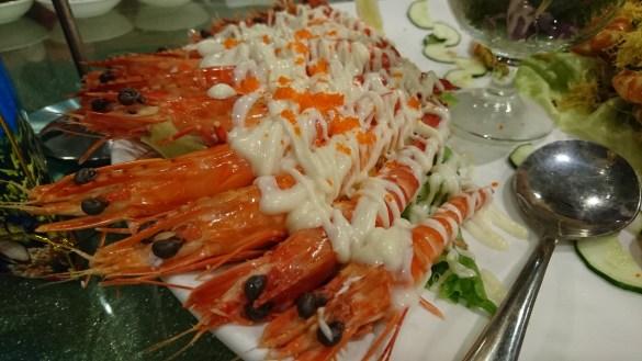 Prawns Unique Seafood Tasty
