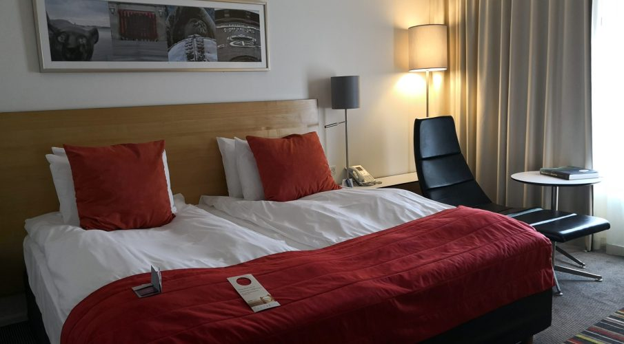 A Night at Crowne Plaza Copenhagen Towers
