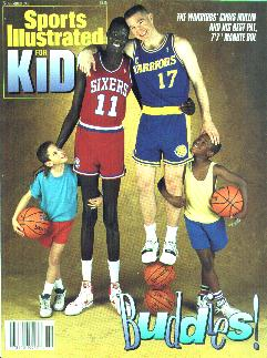 Manute Bol Sports illustrated Cover