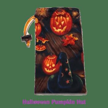 Drawstring Bag Halloween Pumpkin Hat