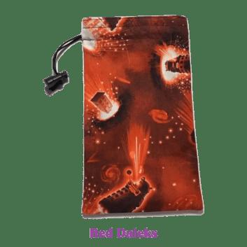 Drawtring Bag Red Daleks