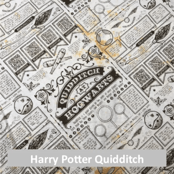 Harry Potter Quidditch Fabric