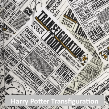 Harry Potter Transfiguration Today fabric