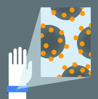 GoogleX nanodiagnosis health watch