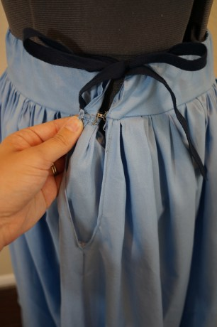 Skirt Hook and Ey