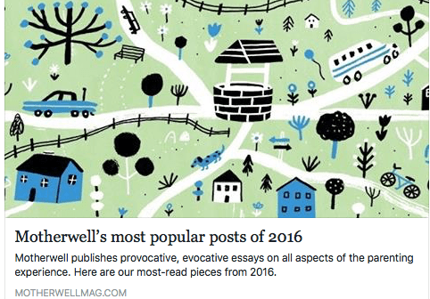 My Piece Made Motherwell's Top Posts of 2016!