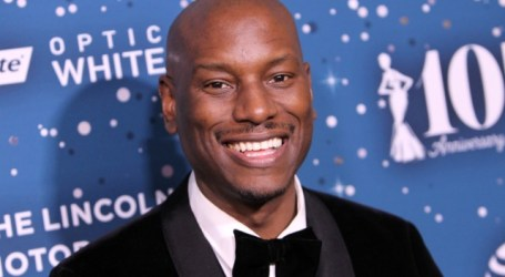 While No One Was Looking, Tyrese Went And Got Married