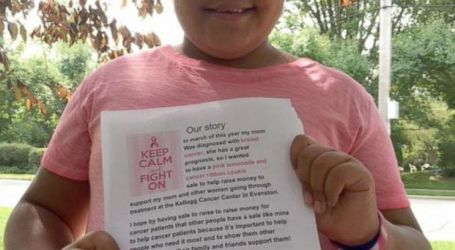 10-Year-Old Girl Raises More Than $4,000 From Bake Sale After Mom's Breast-Cancer Diagnosis