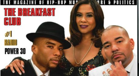THE BREAKFAST CLUB GRACES COVER 2 OF THE SOURCE'S POWER 30 ISSUE