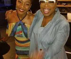 Tiffany Haddish finally meets her idol Oprah