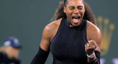Serena Williams wins first match at Indian Wells in return to tennis
