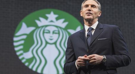 """Starbucks' Howard Schultz """"ashamed"""" after controversial arrest of two black men"""