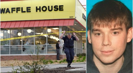Waffle House shooting suspect captured in woods behind apartment complex