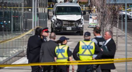 The man accused of mowing down Toronto pedestrians is charged with murder