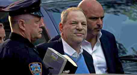 Charged With Rape, Weinstein Posts $1 Million Bail and Surrenders Passport