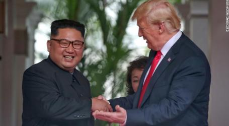 Trump and Kim become the 1st sitting US president & North Korean leader to meet