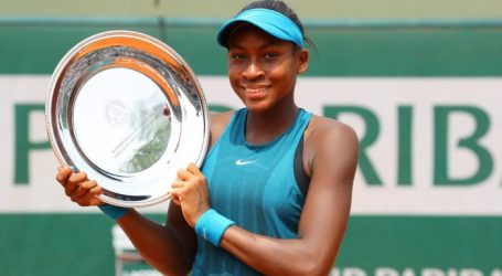 14 year old Delray Beach native Coco Gauff wins junior French Open Title