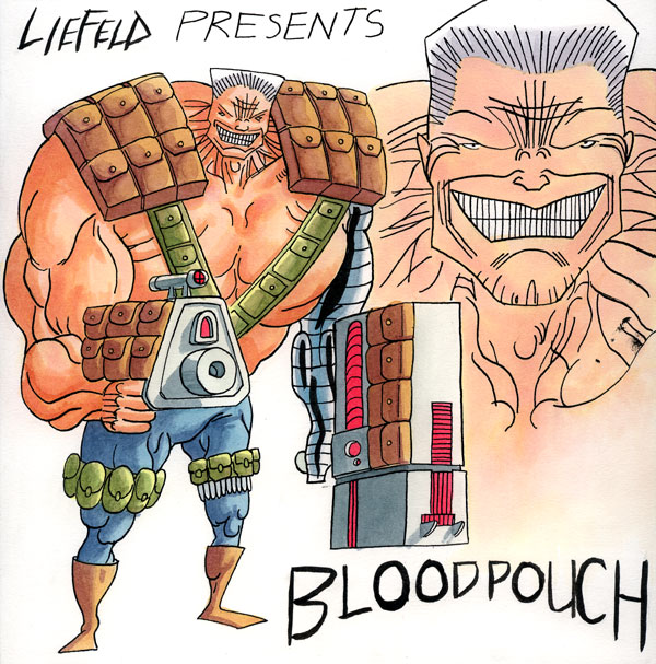 DC is trying to outpace the LHC with the Liefeld Event Horizon, where he draws ALL their comics