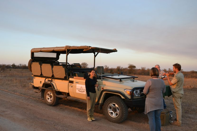 Game drive transportation