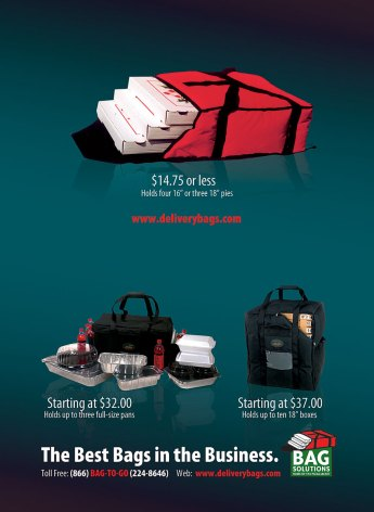 Bag Solutions modular advertisement