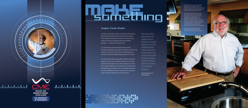 Center for Manufacturing Excellence brochure