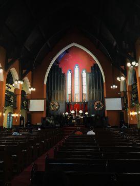 An international church in China