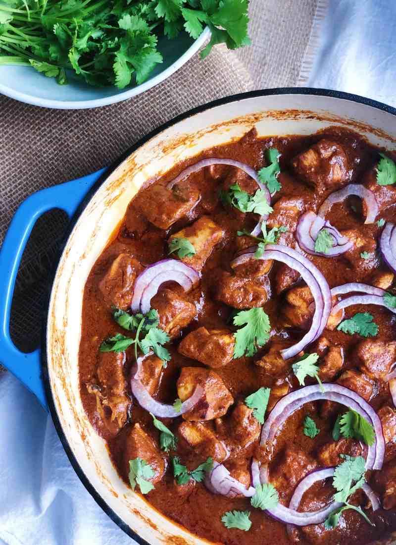 Weeknight Chicken Curry.