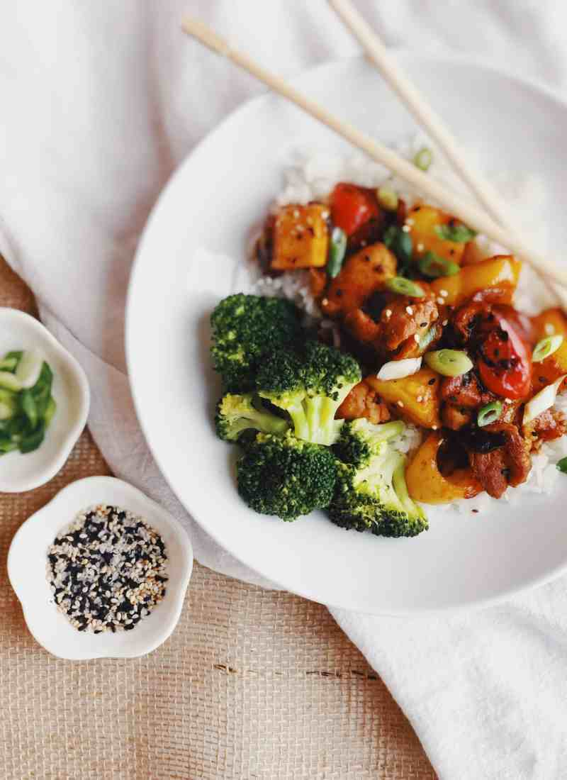 30 minute Sweet & Sour Chicken