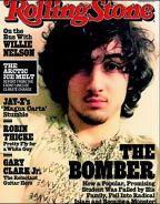 Rolling Stone cover, featuring Dzhokhar Tsarnaev, 2013