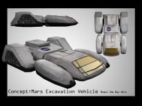Mars Vehicle
