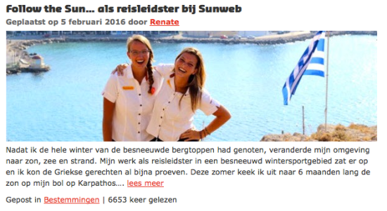 Sunweb-blog-guide