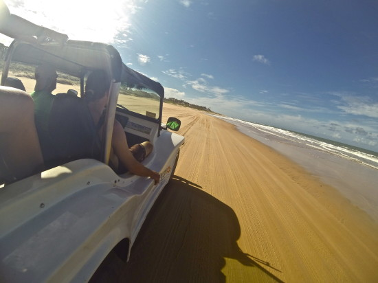 Let's go for a ride on the beach