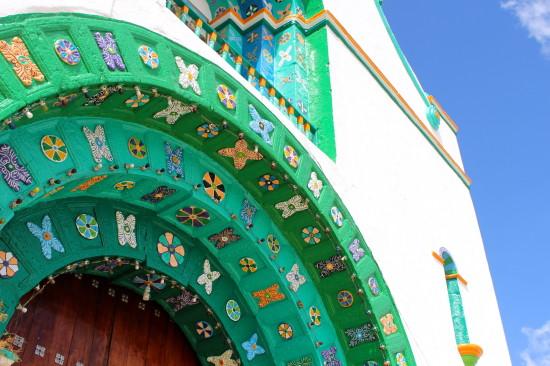 The Chamula facade