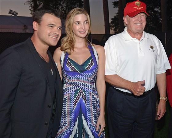 Emin, Ivanka and Trump Doral FL 2014