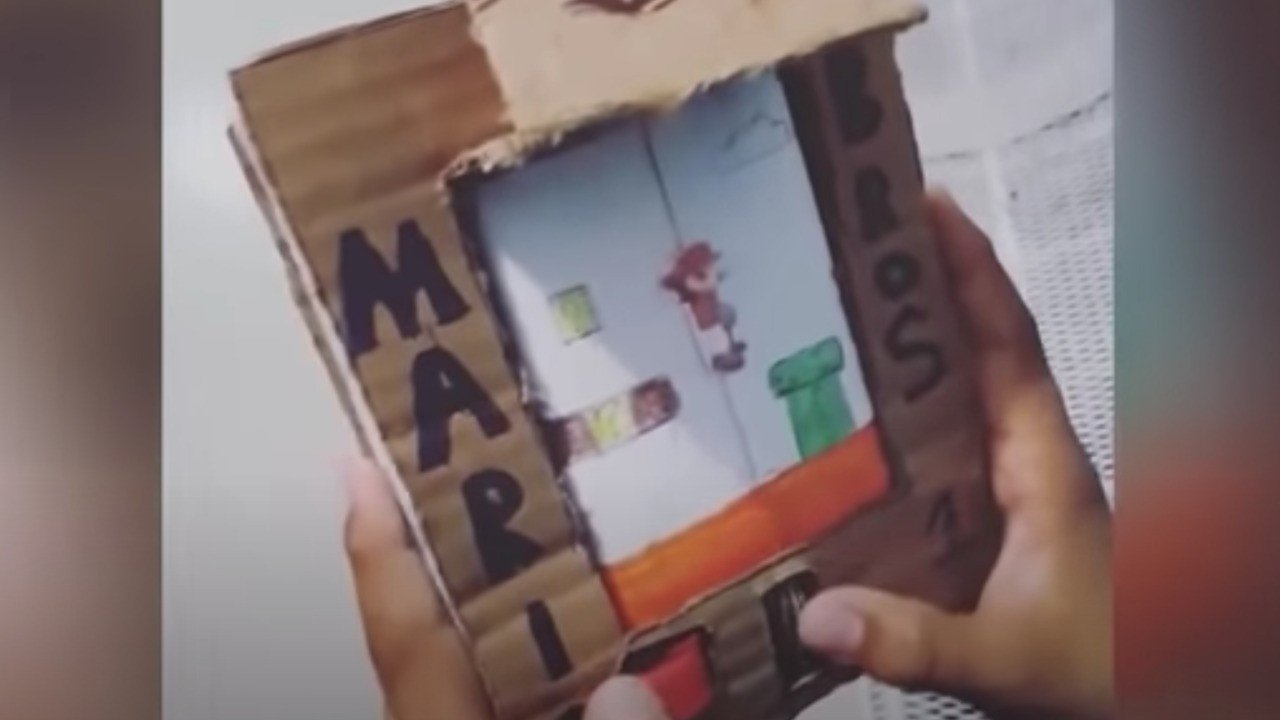 Random: No, Nintendo Did Not Sue A 9-Year-Old Child For Creating A Cardboard Game Boy 1